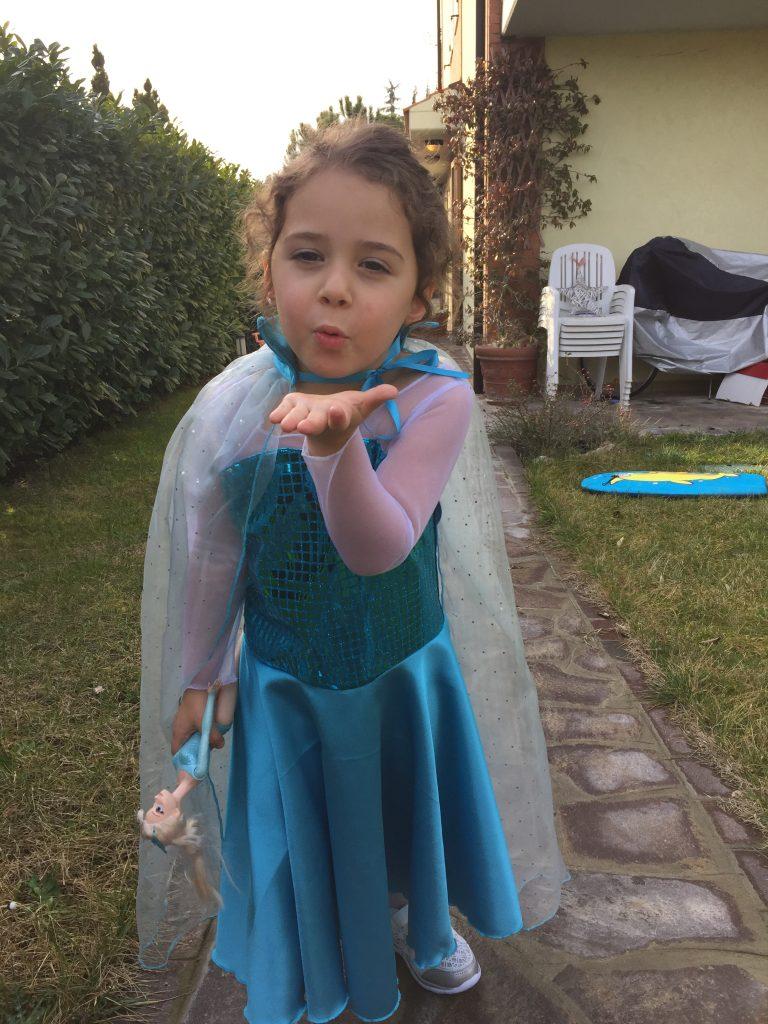 Costume Elsa Fai Da te